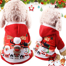 Load image into Gallery viewer, Christmas Pet Dog Clothes Cat Costume Santa Claus