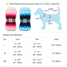 Load image into Gallery viewer, Christmas Pet Dog Clothes Warm Dog Cat Sweater