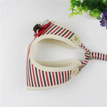 Load image into Gallery viewer, Classic Strip Pet dog Harness Vest with 120cm
