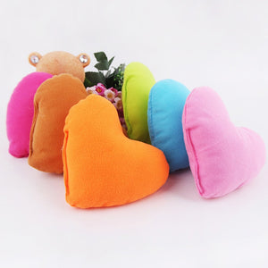 Cute Colorful Love Small Dog Pillow PP Cotton