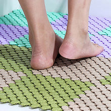 Load image into Gallery viewer, DIY Carpet Candy Colors Bath Mats Plastic Bathroom