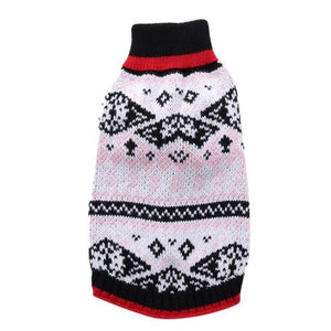Dog Christmas Sweater Pet Holiday Season Nordic
