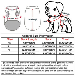 Dog Vests Spring Summer Pectoral Muscle Bikini