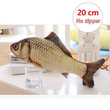 Load image into Gallery viewer, Fish Design Pet Cat Toy Funny Chewing Toys for Cat