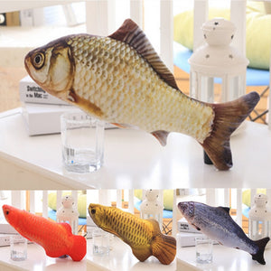 Fish Design Pet Cat Toy Funny Chewing Toys for Cat