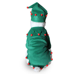 Funny Dog Cat Costumes Pet Christmas Wizard
