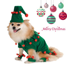 Load image into Gallery viewer, Funny Dog Cat Costumes Pet Christmas Wizard