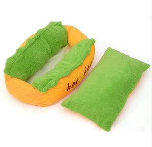 Hot Dog Bed Pet Winter Beds Fashion Sofa Cushion Supplies Warm Dog House Pet Sleeping Bag Cozy Puppy Nest Kennel