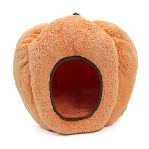 Hot Sale Funny Pumpkin Pet Rabbit Dog Bed Warm