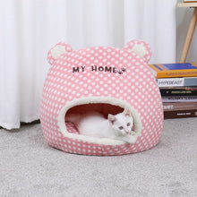 Load image into Gallery viewer, Lovely Pet Cats Beds Houses Thick Warm Sofa Kennel