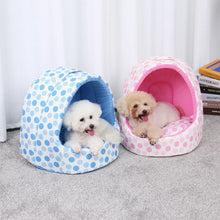 Load image into Gallery viewer, Lovely Pet Dog Cat Bed House Portable Non-slip