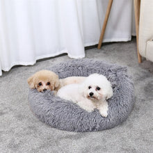 Load image into Gallery viewer, Luxury Pet Dog Beds Round Houses Long Wool Super