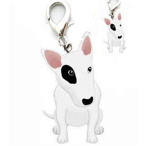 Mini Alloy pet supply cat dog pendant tags bull