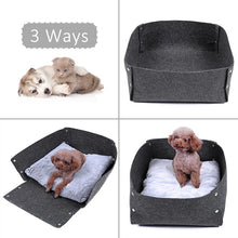 Load image into Gallery viewer, 3in1 Pet Bed Dog Cat Felt Bed