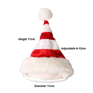 Pawstrip Fashion Christmas Dog Hat Small Animal