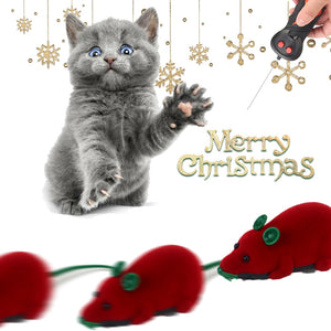 Pet Cat Christmas Interactive Toys Electronic