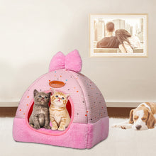 Load image into Gallery viewer, Pet Cat Dog Bed & Sofa Warming Dog House Soft Dog