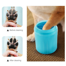 Load image into Gallery viewer, Pet Cats Dogs Foot Clean Cup for Dogs Cats Cleaning Tool Soft Plastic Washing Brush Paw Washer Pet Dog Accessories