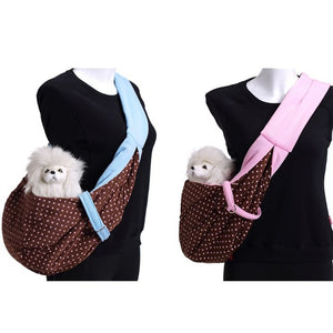 Pet Dog Puppy Carrier Small Pet Dog Sling Carrying