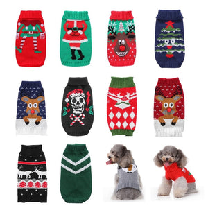 Pet Dog Sweater Cat Clothes For Small Dog Clothing