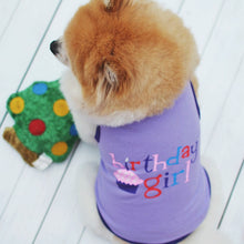 Load image into Gallery viewer, Pet Small Dog Clothes Cat Vest Birthday Suit For