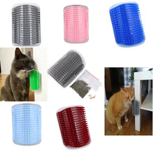 Load image into Gallery viewer, Pet cat Self Groomer Grooming Tool Hair Removal Brush Comb for Dogs Cats Hair Shedding Trimming Cat Massage Device with catnip