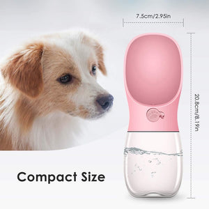 Rantion 350ml Pet Dog Bowl Portable Puppy Water Bottle Outdoor Travel Chihuahua Cat Feeder Dispenser Drinking Cup