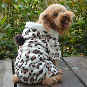 Soft Pet Dog Jumpsuit Puppy Cat Clothes Fleece