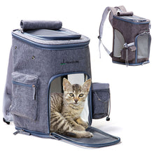 Load image into Gallery viewer, Soft Sided Pet Carrier Dog Backpack Small Dog Bag