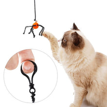 Load image into Gallery viewer, Spider Bat Design Interactive Spring Cat Toy Cat