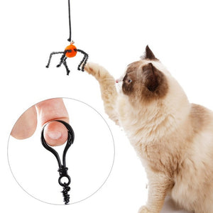 Spider Bat Design Interactive Spring Cat Toy Cat