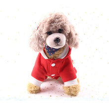 Load image into Gallery viewer, Christmas Dog Clothes Snow Deer Small Dog
