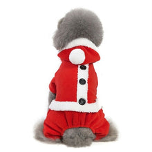 Load image into Gallery viewer, Christmas Dog Clothes Soft Warm Dog