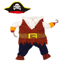 Load image into Gallery viewer, Pirate Pet Costume Halloween Dog Clothes