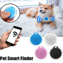 Load image into Gallery viewer, Smart Finder Self-Portrait bluetooth 4.0 Mini Pet Alarm Finder GPS Locator Pet Anti Lost Tracker Tracer for Cats Dog Kids