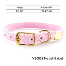 Load image into Gallery viewer, Cat Collar for Small Dogs Puppies Flocking Cat Puppies Collar Pet Supplies Product Adjustable for Kitten Pet Cats Collars YS0032