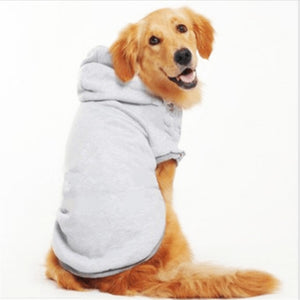 s-9XL dogs pets clothing Large Dogs coat Warm Coat Hoodies Jackets Sportswear Sweaters For dog clothes