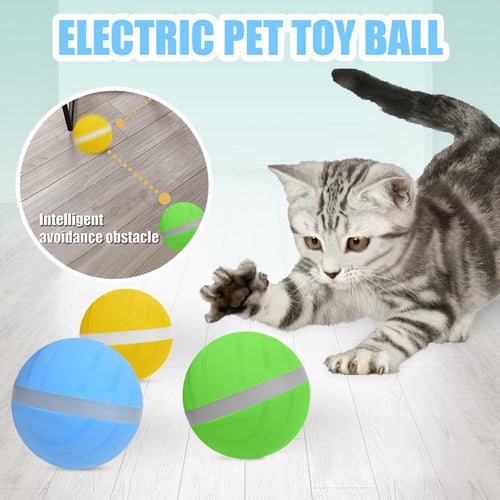 2020 Wicked Ball New Design Pet Dog Cat Toys Interactive Toy Electric Cat Dog Toy Pet Toys Juguete Mascota Игрушки Для Собак