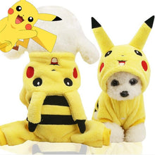 Load image into Gallery viewer, New Cute Winter Cat Costume For Small Dog Costumes Halloween Cosplay Animal Warm Clothes For Pet Chritmas Gifts Drop Shipping