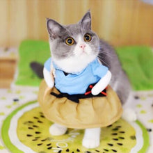 Load image into Gallery viewer, Christmas Cat Clothes Halloween Clothes For Cats Costume New Year Outfit Pet Cat Clothes For Chihuahua Winter Warm Pet Clothes