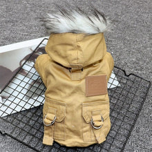 Load image into Gallery viewer, Dog Clothes Winter Warm Pet Dog Jacket Coat Puppy Chihuahua Clothing Hoodies For Small Medium Dogs Puppy Yorkshire Outfit XS-XL