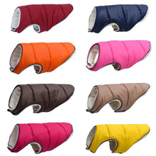Load image into Gallery viewer, 2019 Winter Pet Dog Clothes Super Warm Jacket Thicker Cotton Coat Waterproof Small Dogs Pets Clothing For French Bulldog Puppy