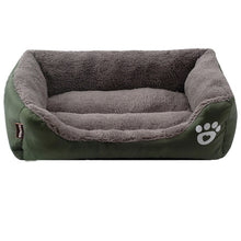 Load image into Gallery viewer, Free ship S-3XL Dogs Bed For Small Medium Large Dogs Pet House Waterproof Bottom Soft Fleece Warm cat Bed Sofa House 11Colors