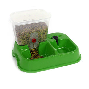2 In 1 Automatic Pet Feeder Detachable Food Dispenser