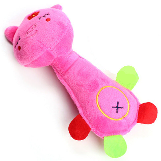 Animal chew toy dog toys cat vocalization in cloth dolls toy Monkey pig deer pet toys accessories products high quality