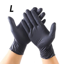 Load image into Gallery viewer, 20Pcs Black and Blue  Gloves Universal