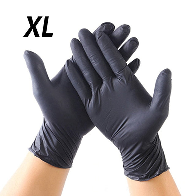 20Pcs Black and Blue  Gloves Universal