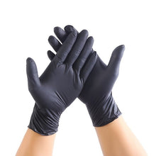 Load image into Gallery viewer, 50PCS Disposable Nitrile Rubber Gloves Dishwashing Rubber Gloves