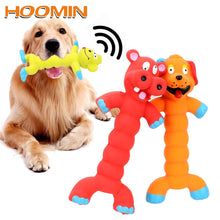 Load image into Gallery viewer, HOOMIN Puppy Pet Play Chew Toys Dogs Cats Pets Supplies Animal Shape Rubber Squeaky Sound Toy Dog Toys