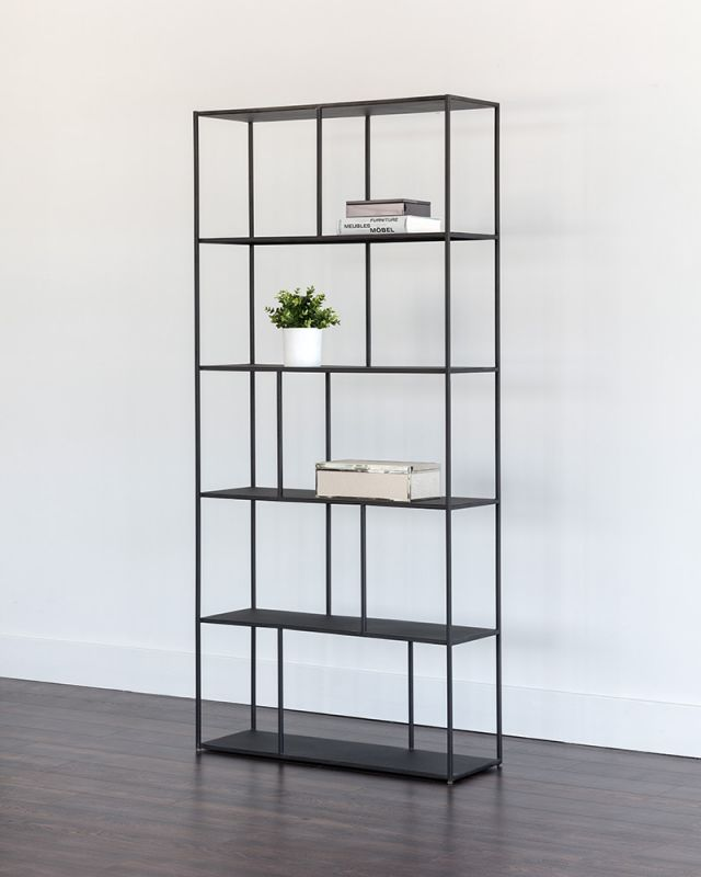 Eiffel Bookcase - Large, Black